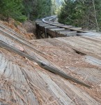 Water Flume below the Sugar Pine Railroad Grade