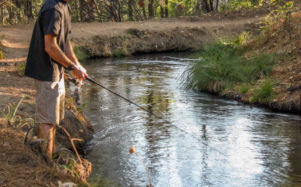 Fishing the Main Tuolumne Ditch
