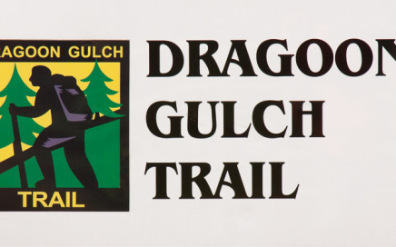 Dragoon Gulch Trail Sign