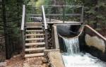 Flume on Main Tuolumne Ditch Trail