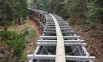 Wooden Flume on Main Tuolumne Ditch Trail