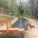 Private Bridge over Tuolumne Ditch