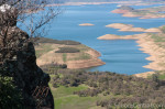 New Melones Lake From Table Mountain