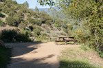 Picnic Tables on West Side Trail