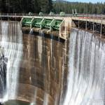 Lyons Reservoir Dam Spillway
