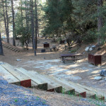 Campsites at Beardsley Dam Campground