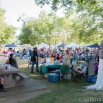 Tuolumne Farmers' Market Crowd