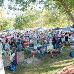 Crowd at the Tuolumne Farmers' Market