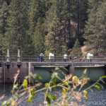 Fishermen on Lyons Dam