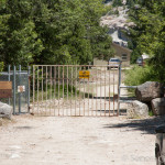Gate at Parking Area