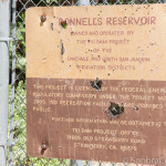 Donnells Reservoir Info Sign