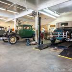 Inside Model A Garage