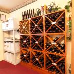 Wine Bottles in Tasting Room