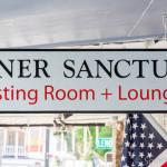 Inner Sanctum Tasting Room and Lounge Sign