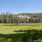 Beautiful Bloomer Lake and Surrounding Meadow