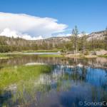 Thunderheads over Herring Creek Reservoir