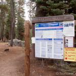 Crabtree Camp Information Sign