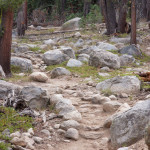 Rocky Trail to Camp Lake