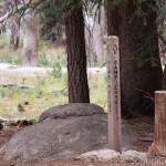 Camp Lake Sign Post Marker