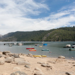 Boats From Pinecrest Lake West Shore
