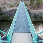 Footbridge at Camp Nine