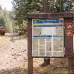 Info Sign at Trailhead