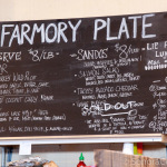 The Farmory Plate Menu