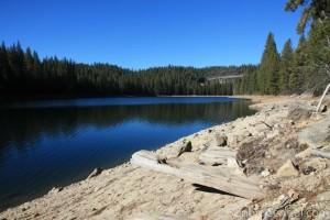 Lyons Reservoir From Sugar Pine Railroad Grade
