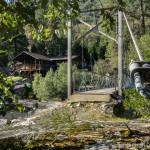 Footbridge at Spring Gap