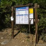 Wheat's Meadow trailhead sign