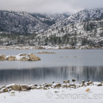 Snow at Pinecrest Lake