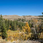 Overlooking the Sierra Nevada Range